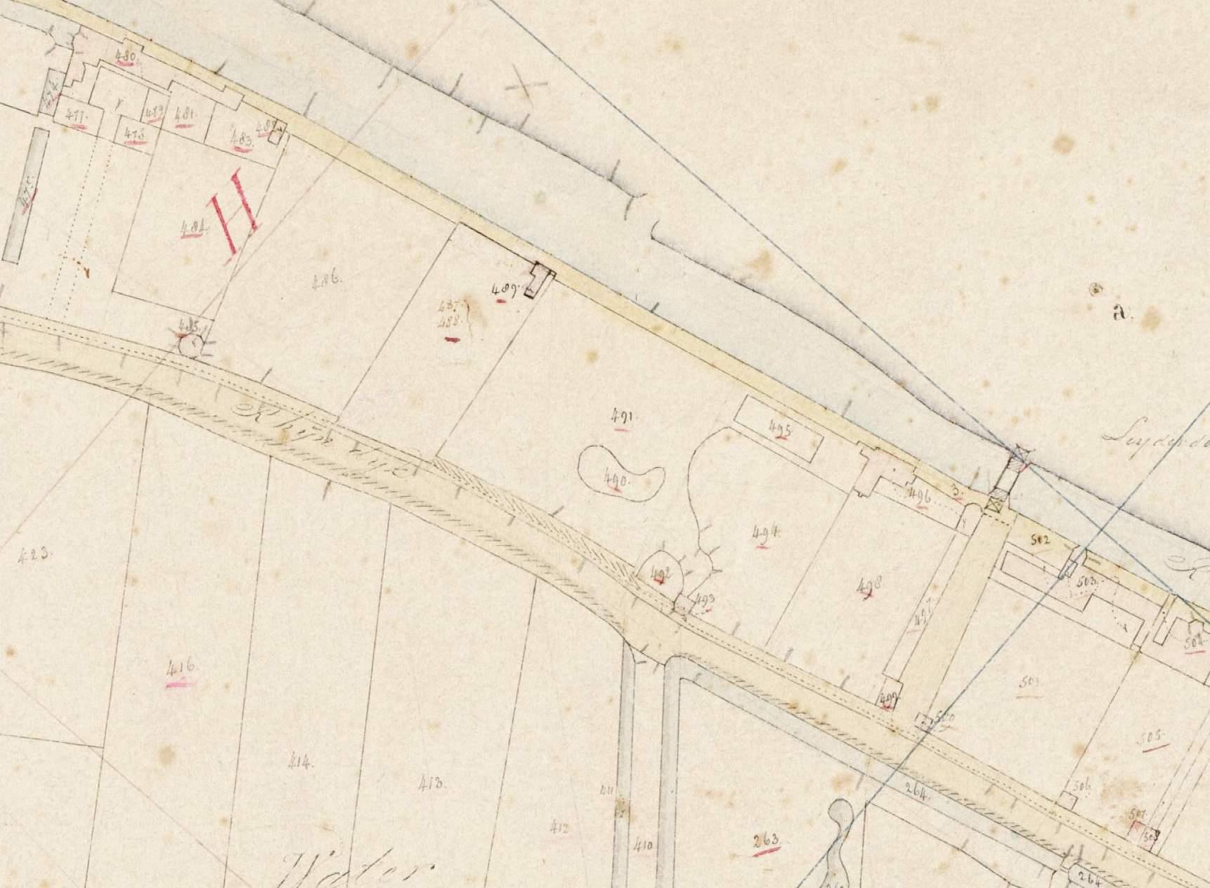Minuutplan (gebied rond voormalige Leiderdorpse brug)
